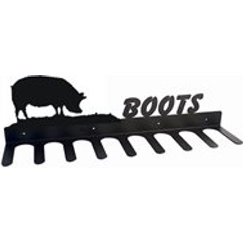 Boot Rack In Pig Design - Large