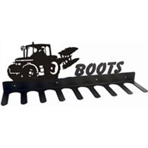 Boot Rack in Ploughing Tractor Design - Medium