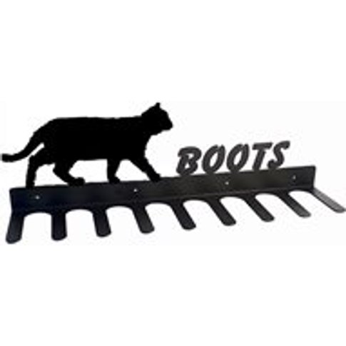 Boot Rack in Prowling Cat Design - Large