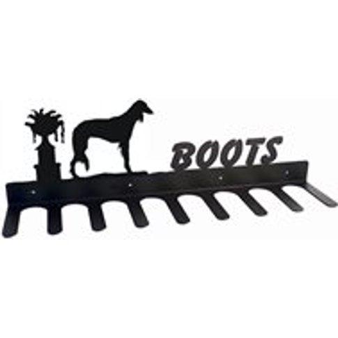 Boot Rack in Saluki Dog Design - Medium
