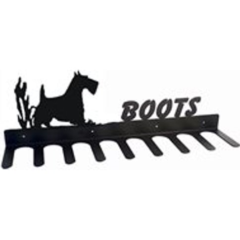 Boot Rack In Scottie Dog Design - Large