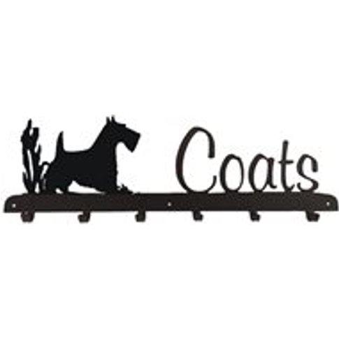 Coat Rack In Scottie Dog Design