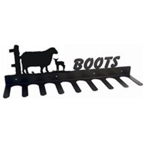 Boot Rack in Sheep Design
