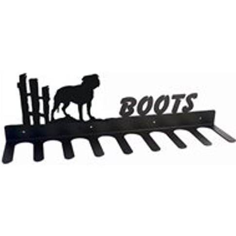 Boot Rack in Staffordshire Terrier Design - Large