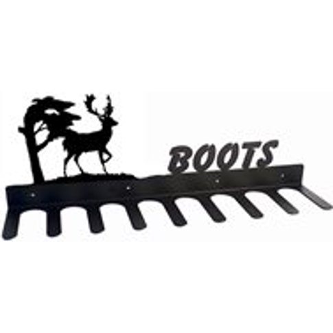 Boot Rack in Stag Design - Large