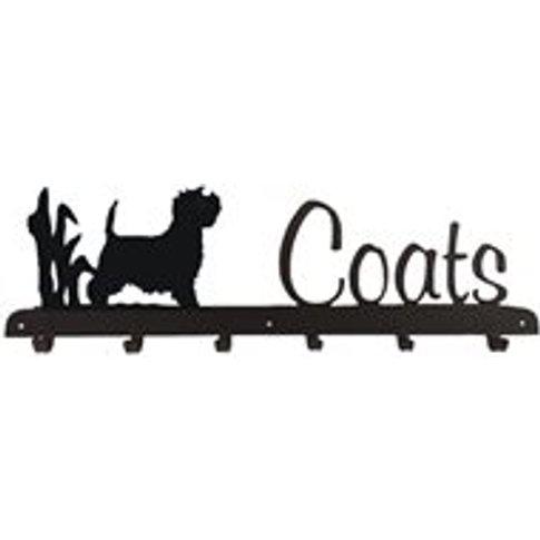 Coat Rack In Westie Design