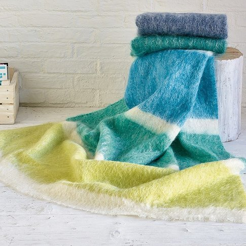 Kagen Mohair Throw