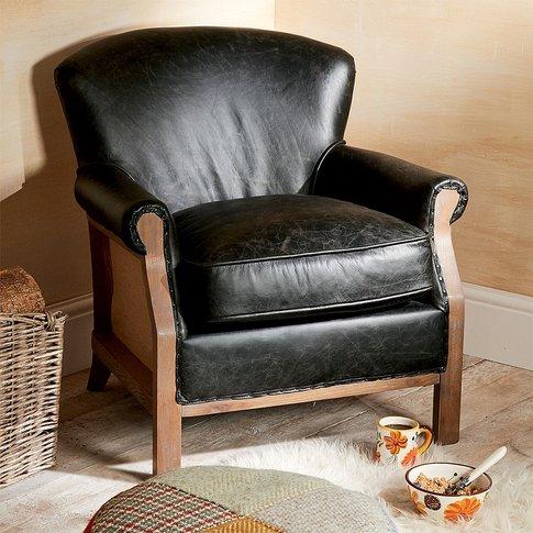 Logan Leather Armchair