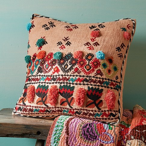 Pradesh Pom&Shy;Pom Cushion