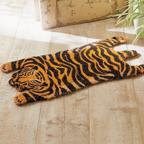 Coir Tiger Doormat