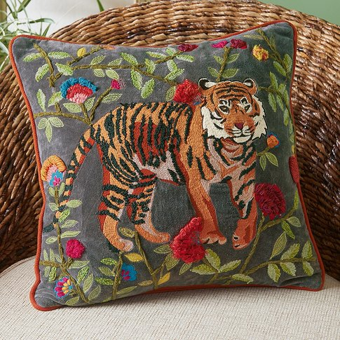 Bengal Embroidered Cushion