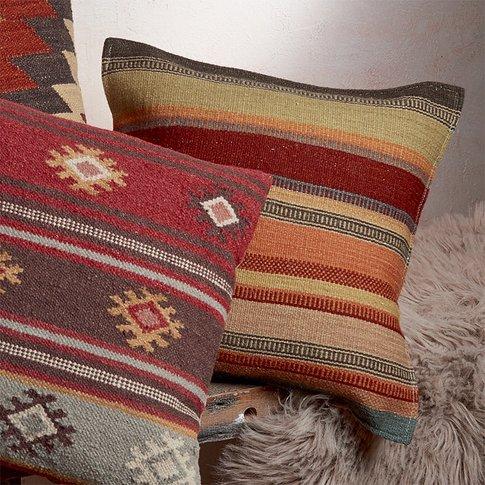 Stripe Navajo Cushion