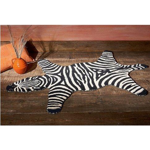 Zebra Wool Rug