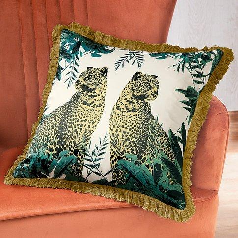 Kruger Leopard Cushion