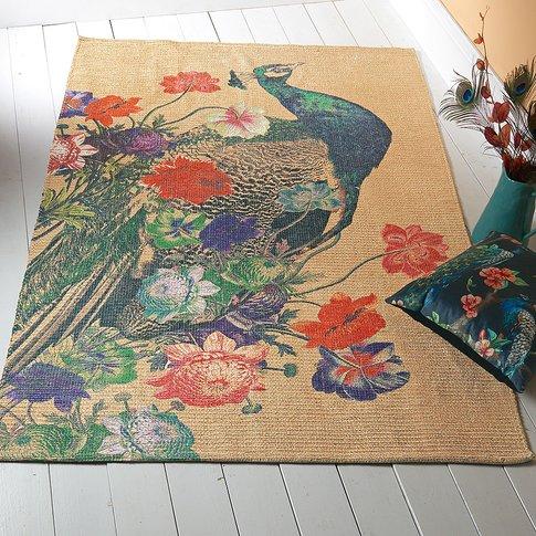 Bagatelle Peacock Chenille Rug