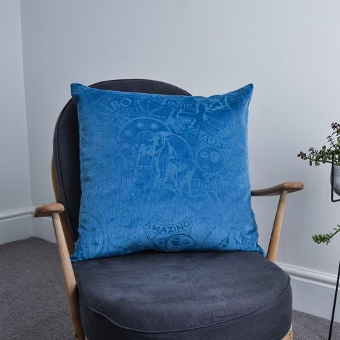 Amazing Jumbo Lux Corduroy Cushion (Colour: Cornflow...
