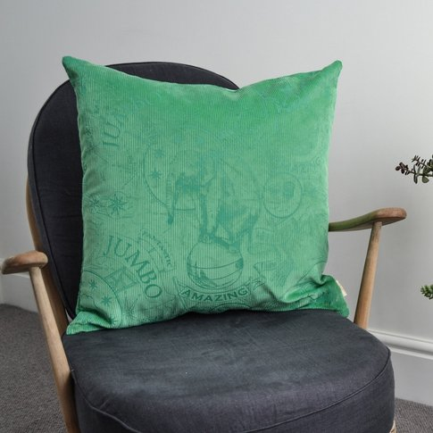 Amazing Jumbo Lux Corduroy Cushion (Colour: Mint)