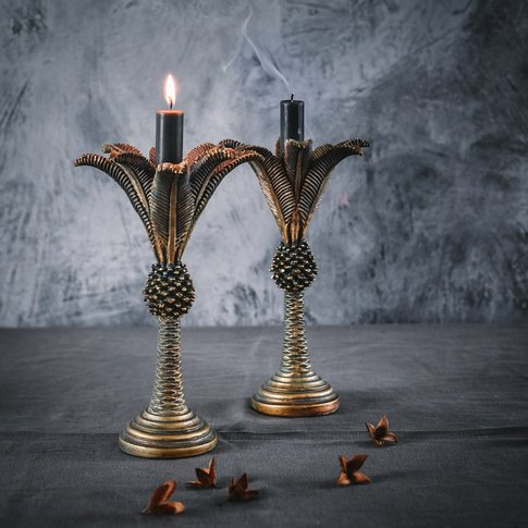 Pharaoh Palm Candlestick