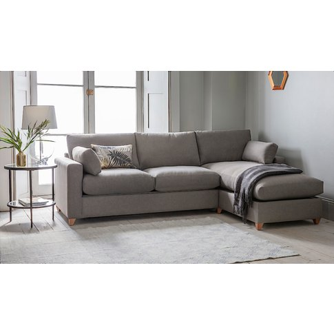 Corby Storage Chaise Sofa Bed - Right
