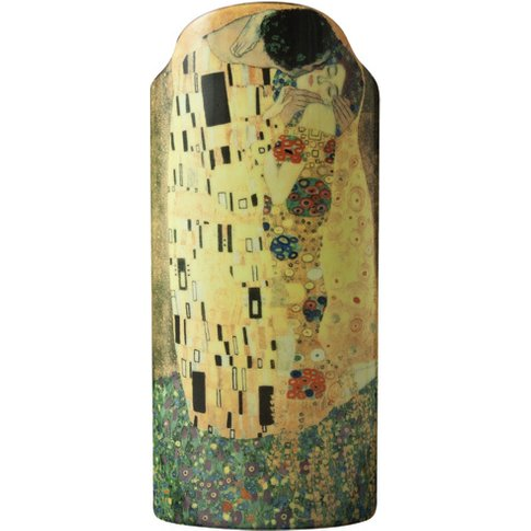 Silhouette D'Art Vase - Klimt - The Kiss