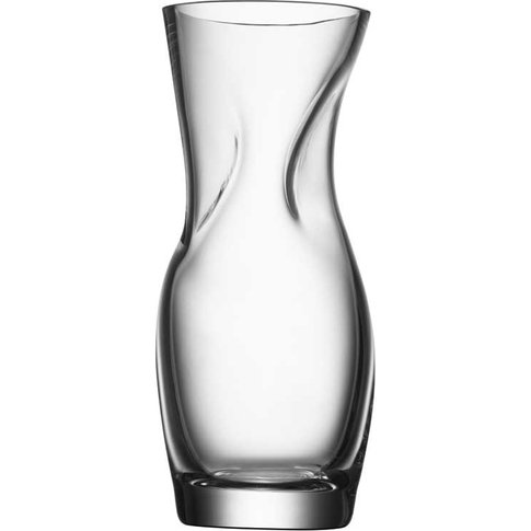 Orrefors 23cm Clear Squeeze Vase