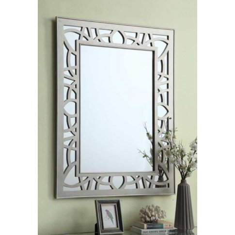 Enrico Rectangular Gallo Mirror Glass