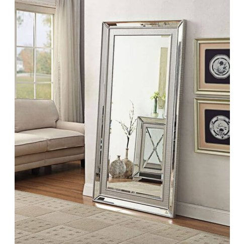 Gianina Glass Mirror Large