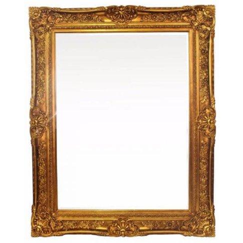 Gualtiero Antique Glass Mirror Gold
