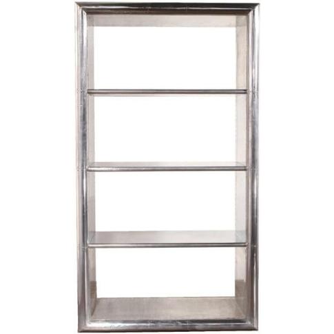 Aviator Aluminium Bookcase