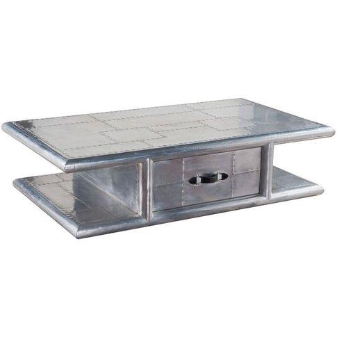Aviator Aluminium Coffee Table