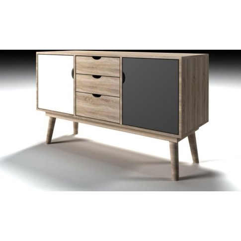 Scandi Sideboard Grey