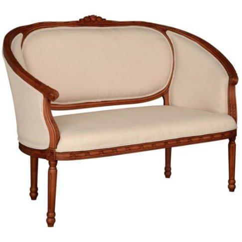 Balbina 2 Seater Cotton Cream Sofa