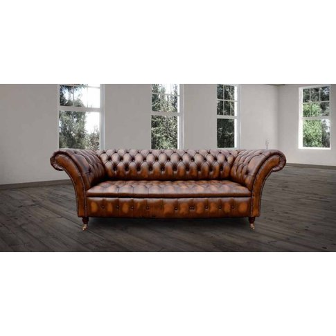Chesterfield Cliveden 3 Seater Sofa Settee Button Se...
