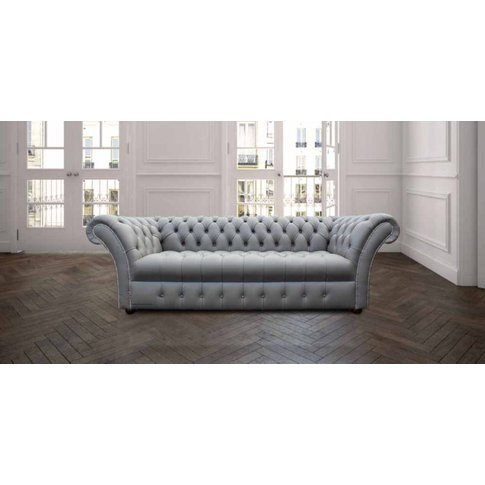 Chesterfield Balston 3 Seater Sofa Settee Buttoned S...