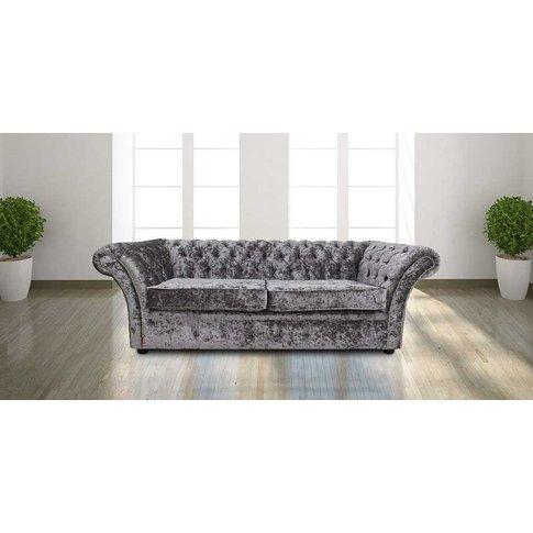 Chesterfield Balmoral 3 Seater Sofa Settee Senso Fos...