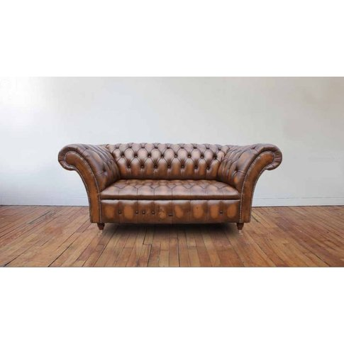 Chesterfield Highgrove 2 Seater Sofa Settee Antique ...