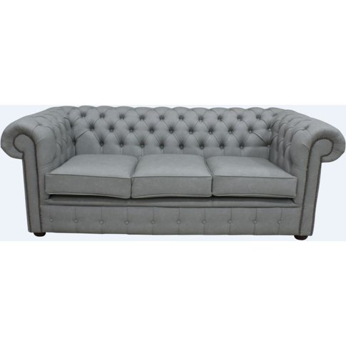Chesterfield 3 Seater Infinity Shadow Faux Leather S...
