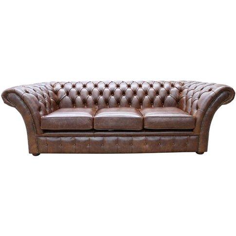 Chesterfield Balmoral 3 Seater Sofa Settee New Engla...