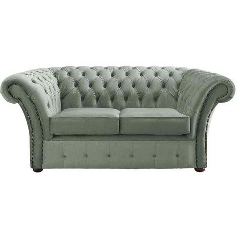 Chesterfield Balmoral Velvet Fabric Sofa Malta Seasp...