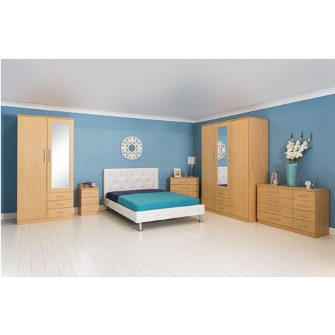 Las Vegas 3 Piece Set With 3 Door Wardrobe
