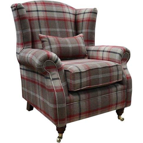 Wing Chair Fireside High Back Armchair Balmoral Ross...