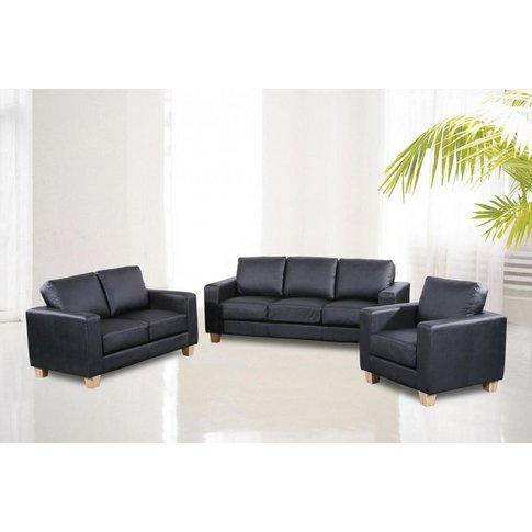 Franco Chesterfield Pu 3 Seater Sofa