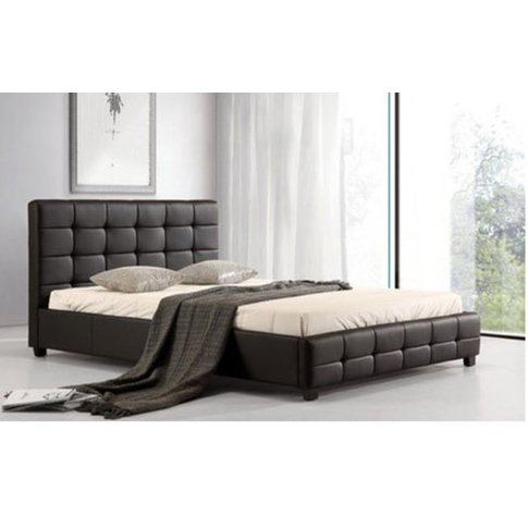 Siena Pu King Size Bed