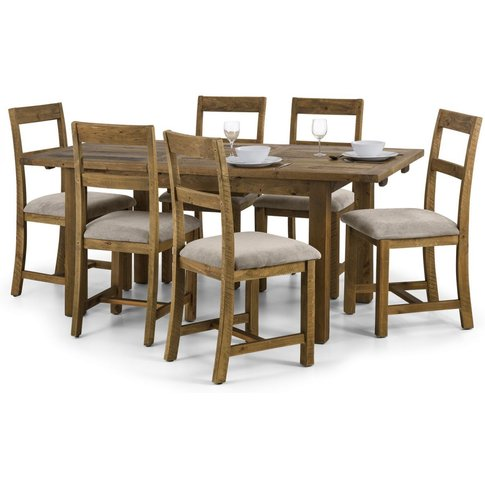 Aspen Extending Dining Table Set (Table + 6)