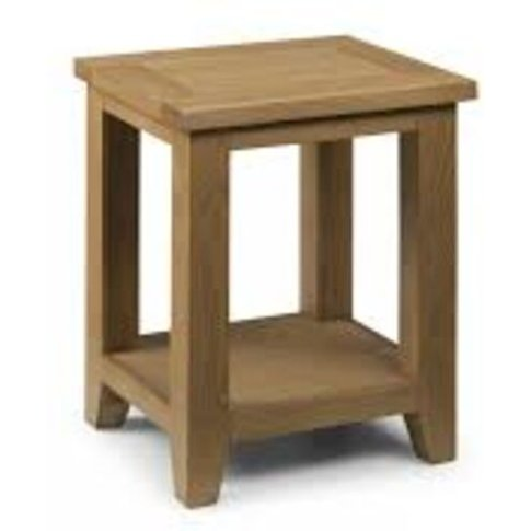 Astoria Oak Lamp Table