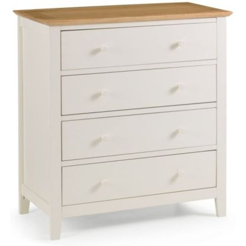Salerno 2-Tone 4 Drawer Chest