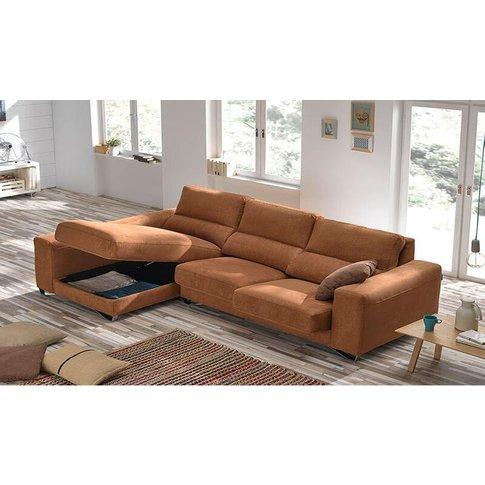 Lauren Italian Fabric Corner Group Sofa