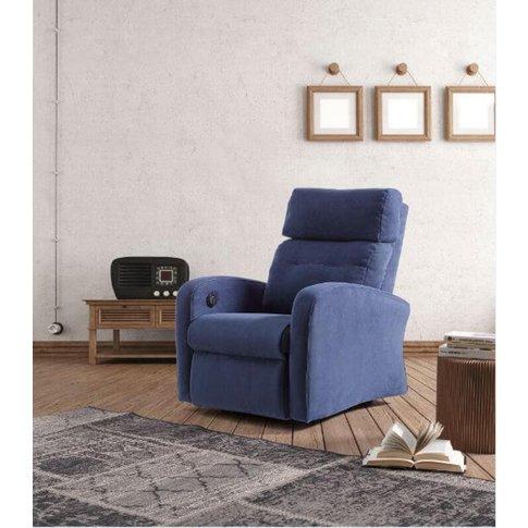 Marte Rise Recline Fabric Armchair