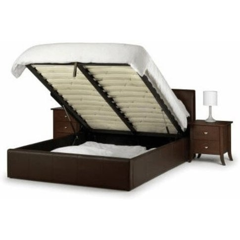 Single 3ft Vienna Faux Leather Storage Bed
