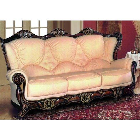 New Jersey Armchair Italian Leather